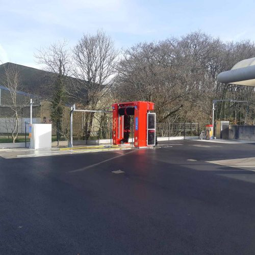 Enrobé station de lavage Daoulas